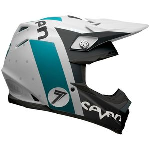 Casque Cross Seven Flight Aqua Matt 2018