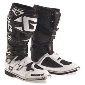 Bottes cross SG12 LIMITED EDITION WHITE BLACK 2016 Blanc/Noir