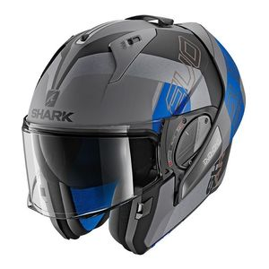Casque Shark EVO ONE 2 SLASHER MAT AKB