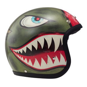 Casque Dmd Vintage King Matt