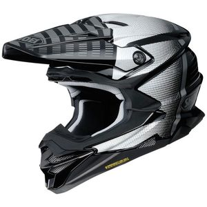 Casque cross VFX-WR BLAZON BLACK GREY TC-5 2019 Noir/Gris