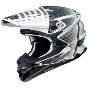 Casque cross VFX-WR BLAZON BLACK WHITE TC-6 2019 Noir/Blanc