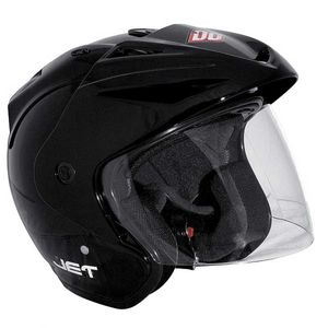 Casque Shot JET - BLACK GLOSSY