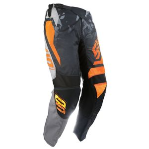 Pantalon Cross Shot Destockage Devo Squad Gris Neon Orange 2017