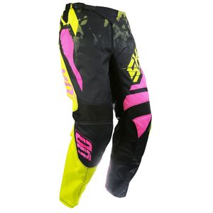 Pantalon cross DEVO SQUAD LIME NEON ROSE  2017 Jaune/Rose