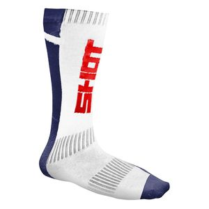 Chaussettes Shot RACE Blue Red