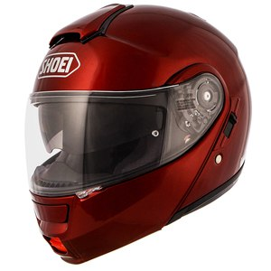 Casque NEOTEC - METAL  Rouge