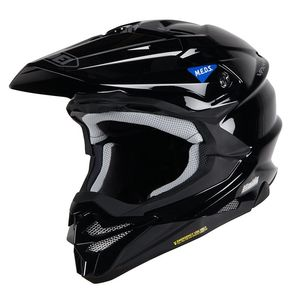 Casque cross VFX-WR BLACK 2019 Noir