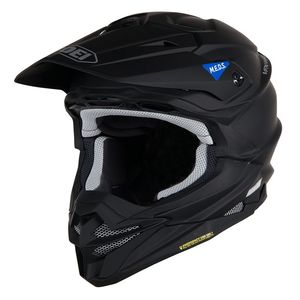 Casque cross VFX-WR MATT BLACK 2019 Noir mat