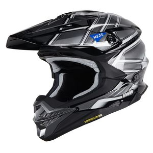 Casque cross VFX-WR GLAIVE BLACK GREY TC-5 2019 Noir/Gris
