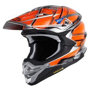 Casque cross VFX-WR GLAIVE BLACK GREY ORANGE TC-8 2019 Noir/Gris/Orange