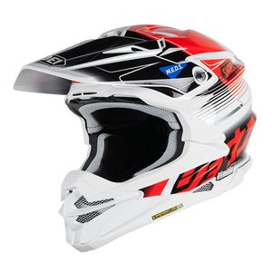 Casque cross VFX-WR ZINGER BLACK WHITE RED TC-1 2019 Noir/Blanc/Rouge
