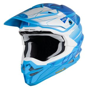 Casque cross VFX-WR ZINGER WHITE BLUE TC-2 2019 Blanc/Bleu