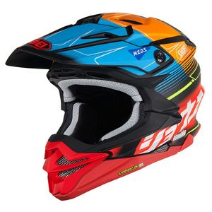 Casque Cross Shoei Vfx-wr Zinger Black Red Orange Tc-10 2018