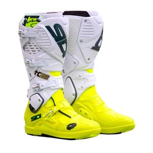 Bottes cross CROSSFIRE 3 SRS - LIMITED EDITION CAIROLI 2018 Jaune fluo Blanc