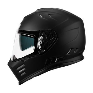 Casque VENOM SOLID  Matt black