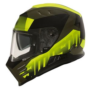 Casque SIMPSON - VENOM - ARMY  Yellow Fluo
