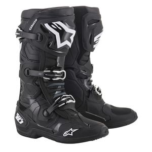 Bottes Cross Alpinestars Tech 10 Black 2019