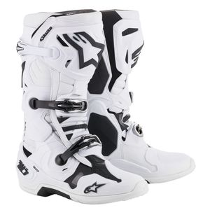 Bottes Cross Alpinestars Tech 10 White 2019
