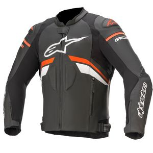 Blouson Alpinestars GP PLUS R V3 Black Red Fluo