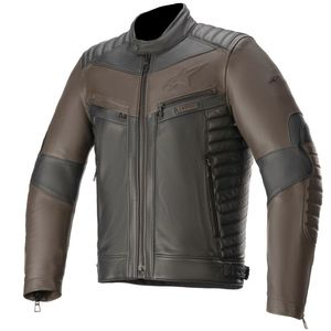 Blouson Alpinestars BURSTUN Black Brown