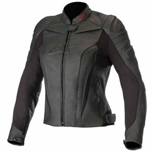 Blouson STELLA GP PLUS R V2 - FULL BLACK  Black Black