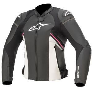 Blouson Alpinestars STELLA GP PLUS R V3 Black White Fuschia