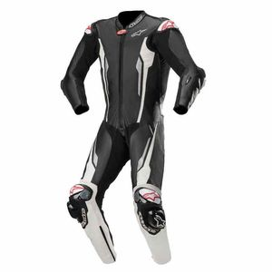 Combinaison RACING ABSOLUTE - TECH-AIR® COMPATIBLE  Black White