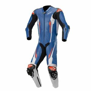 Combinaison RACING ABSOLUTE - TECH-AIR® COMPATIBLE  Blue White Black