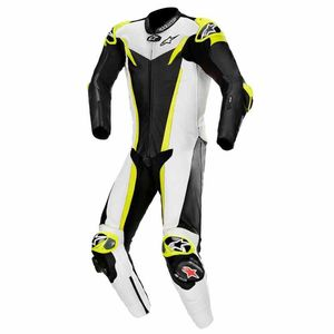 Combinaison GP TECH V3 - TECH AIR COMPATIBLE - FLUO  Black White Yellow Fluo