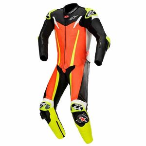 Combinaison GP TECH V3 - TECH AIR COMPATIBLE - FLUO  Red Fluo Black Yellow Fluo