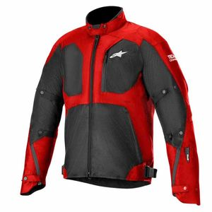 Blouson TAILWIND AIR WATERPROOF - TECH AIR COMPATIBLE  Red Black