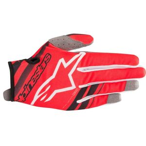 Gants cross YOUTH RADAR RED BLACK  Red/Black