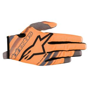 Gants cross YOUTH RADAR ORANGE FLUO BLACK  Orange Fluo Black
