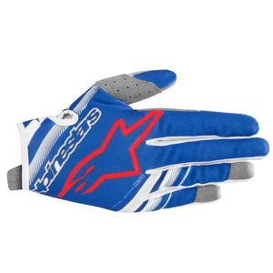 Gants cross YOUTH RADAR BLUE WHITE RED  Blue White Red