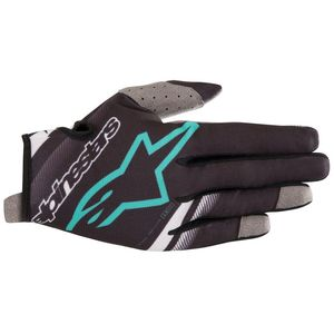 Gants cross RADAR BLACK TEAL 2019 Black Teal