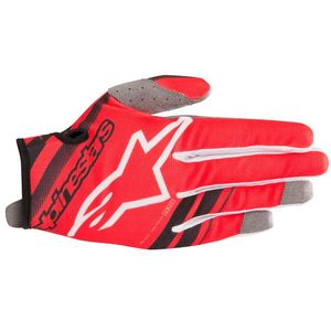 Gants cross RADAR RED BLACK 2019 Red/Black