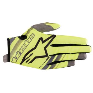 Gants cross RADAR YELLOW FLUO GRAY 2019 Yellow Fluo Gray
