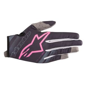 Gants cross RADAR DARK NAVY PINK FLUO 2019 Dark Navy Pink Fluo