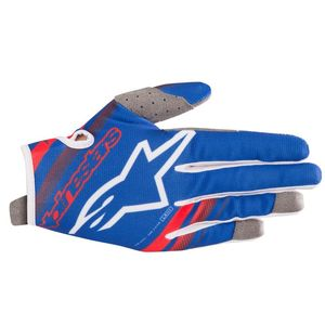 Gants cross RADAR BLUE RED WHITE 2019 Blue Red White