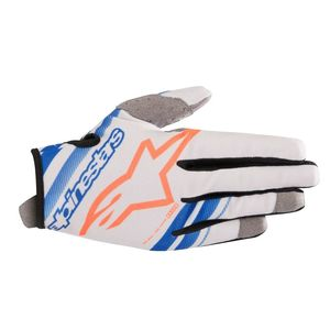 Gants cross RADAR COOL GRAY BLUE ORANGE FLUO 2019 Cool Gray Blue Orange Fluo