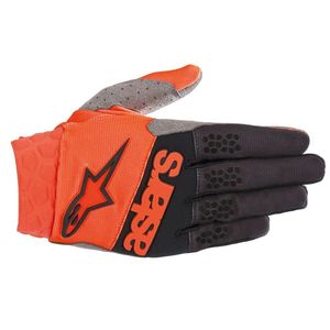 Gants cross RACEFEND ORANGE FLUO BLACK 2019 Orange Fluo Black