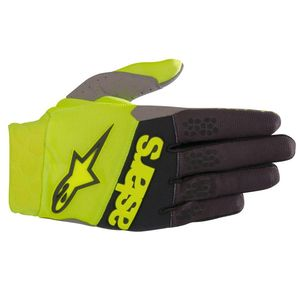 Gants cross RACEFEND YELLOW FLUO BLACK 2019 Yellow Fluo Black
