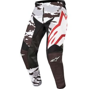Pantalon cross RACER TACTICAL BLACK GRAY CAMO BURGUNDY 2019 Black Gray Camo Burgundy