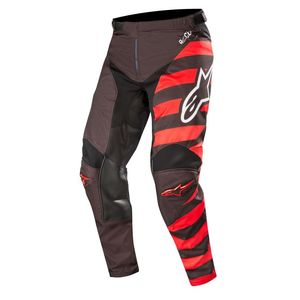 Pantalon cross RACER BRAAP COOL BLACK RED WHITE 2019 Black Red White