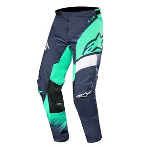 Pantalon cross RACER SUPERMATIC DARK NAVY TEAL WHITE 2019 Petrol Tan Maroon