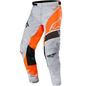 Pantalon cross RACER SUPERMATIC LIGHT GRAY ORANGE FLUO BLACK 2019 Light Gray Orange Fluo Black