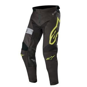 Pantalon cross RACER TECH ATOMIC BLACK YELLOW FLUO GRAY 2019 Black Yellow Fluo Gray