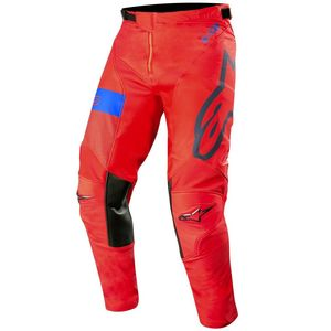 Pantalon cross RACER TECH ATOMIC RED DARK NAVY BLUE 2019 Red Dark Navy Blue