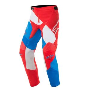 Pantalon cross YOUTH RACER VENOM RED WHITE BLUE  Red White Blue